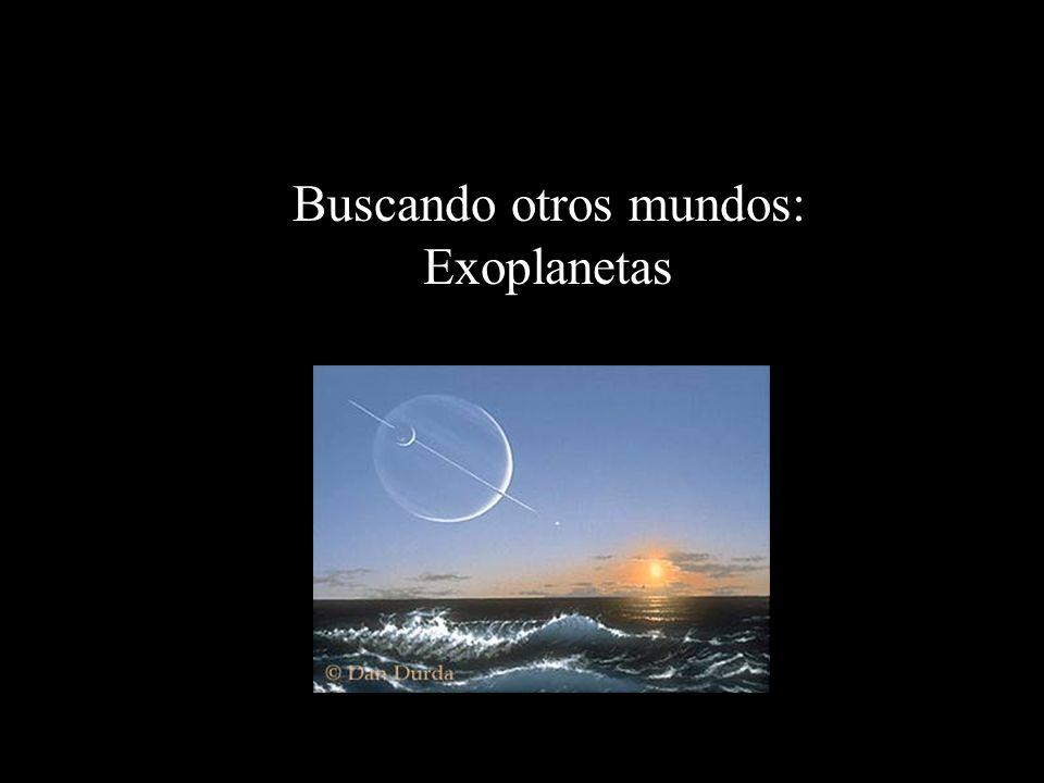 Exoplanetas Planetas que orbitan a otras estrellas = planetas extrasolares = exoplanetas ¡Difíciles de encontrar.