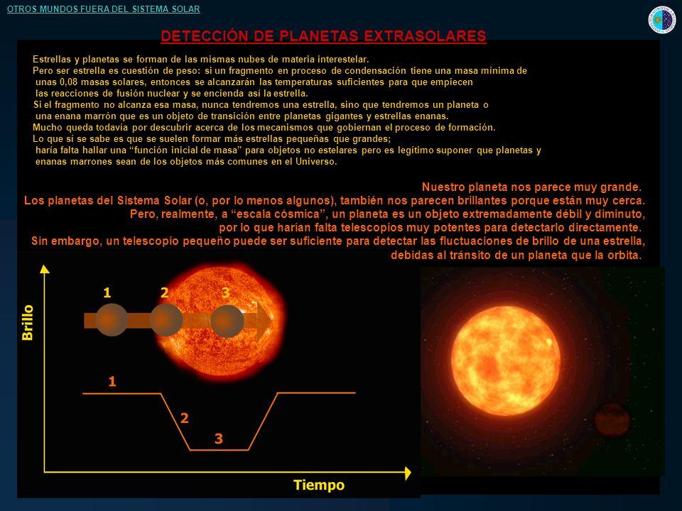 Estrellas y planetas se forman de las mismas nubes de materia interestelar.