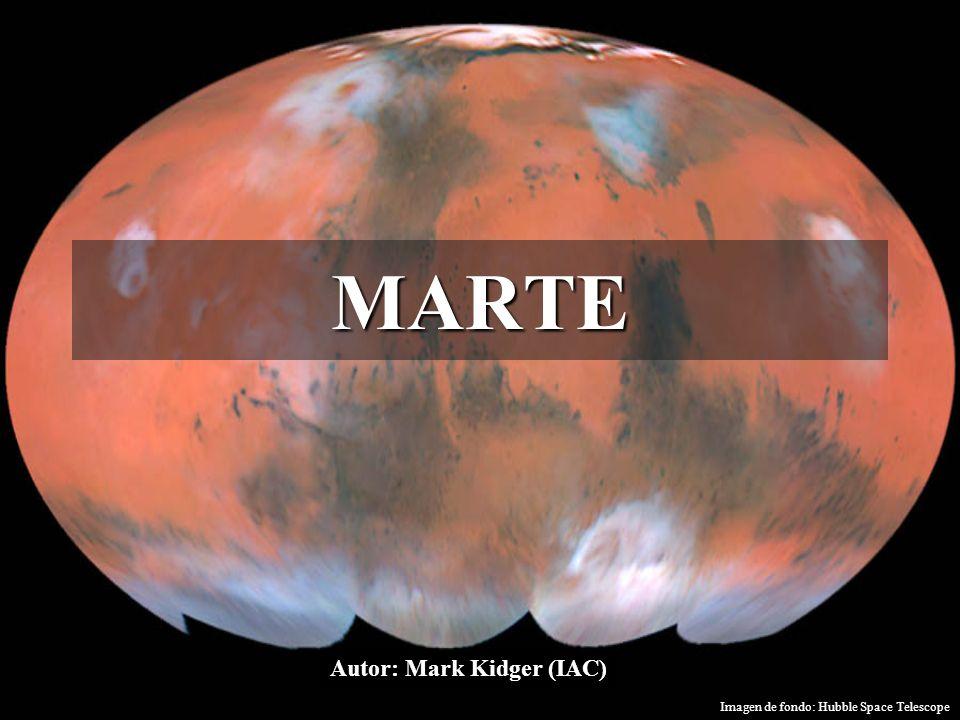 ¿Por qué Marte.El planeta Marte siempre nos ha recordado de la Tierra.