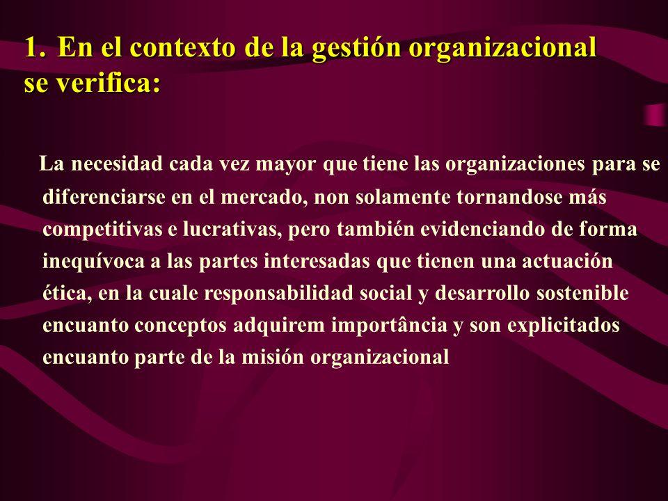 En ese nuevo paradigma transformaciones En ese nuevo paradigma transformacionessobresaltan 1.En la gestión organizacional 2.En el ambiente organizacional 3.En la organización del trabajo 4.En la relación de las organizaciones con sus partes interesadas