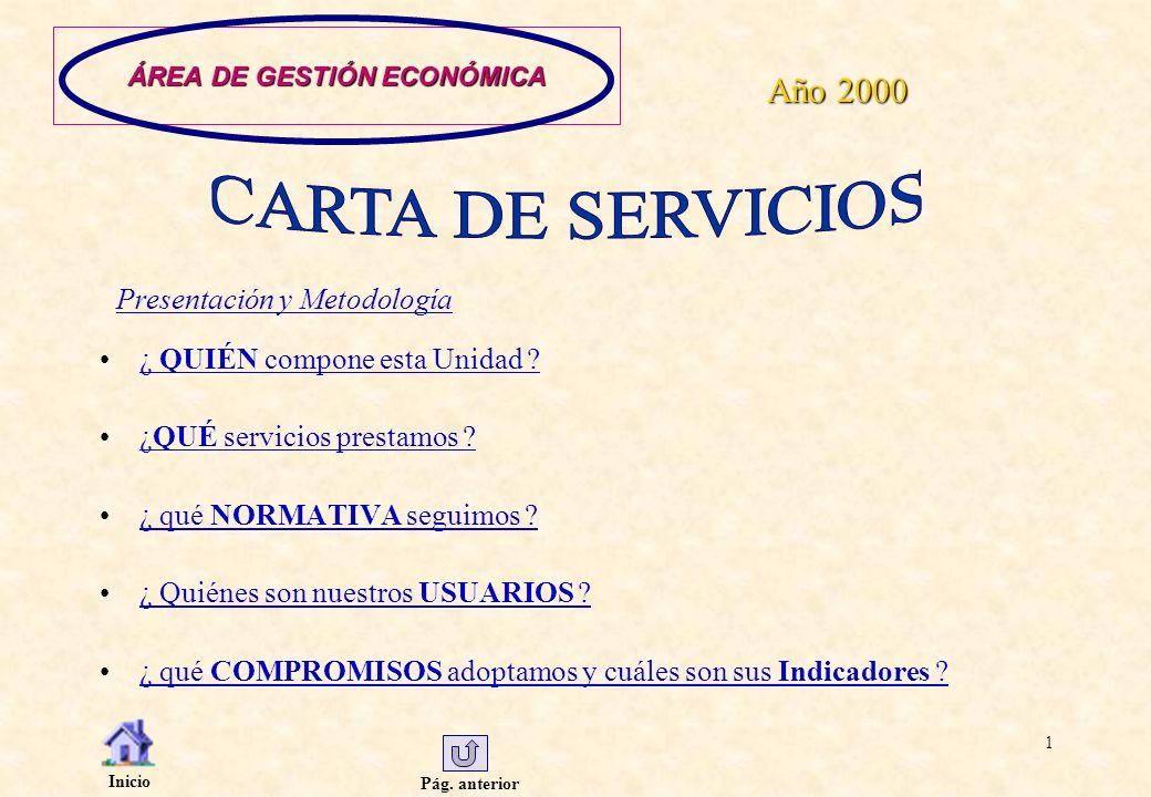 Pág.anterior Inicio 22 SECCIÓN DE TESORERÍA.