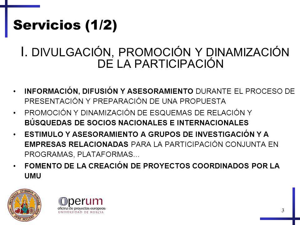 3 Servicios (1/2) I.