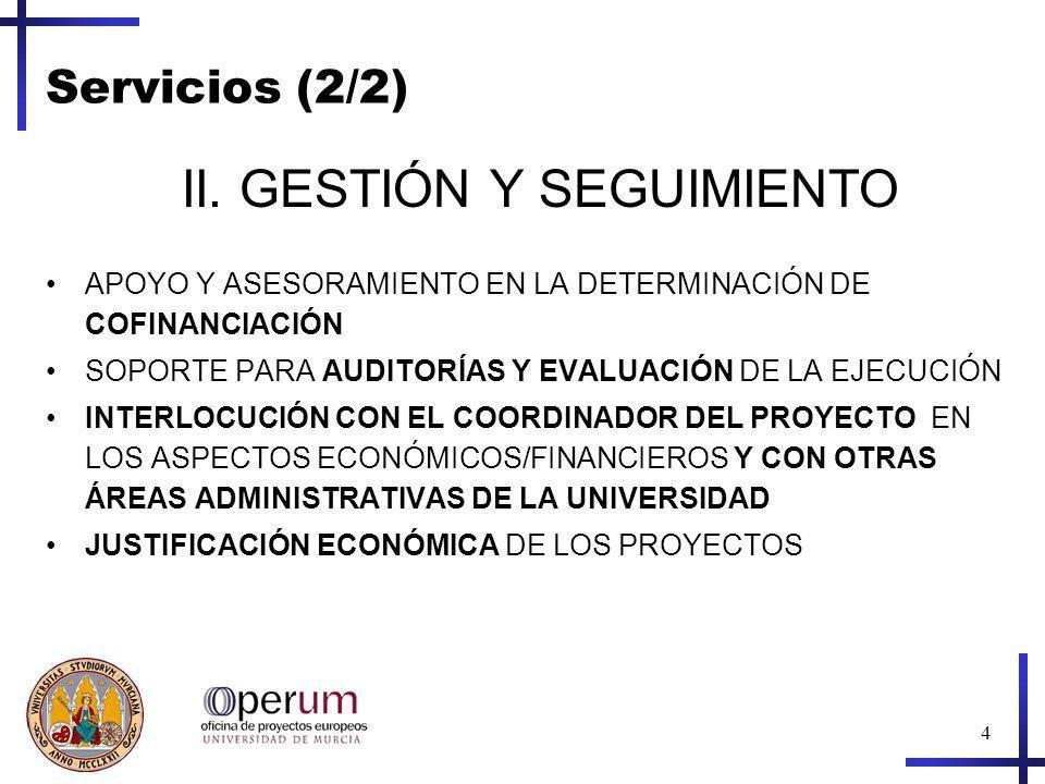 4 Servicios (2/2) II.