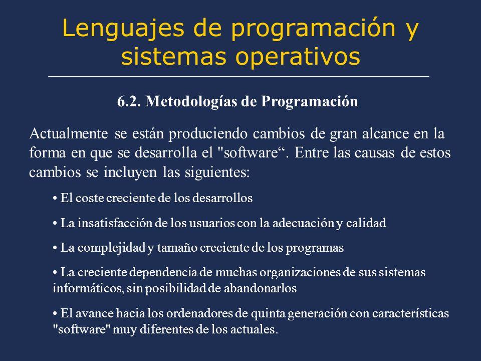 Lenguajes de programación y sistemas operativos 6.2.