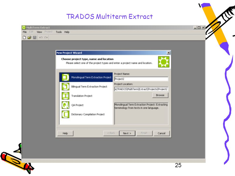 25 TRADOS Multiterm Extract