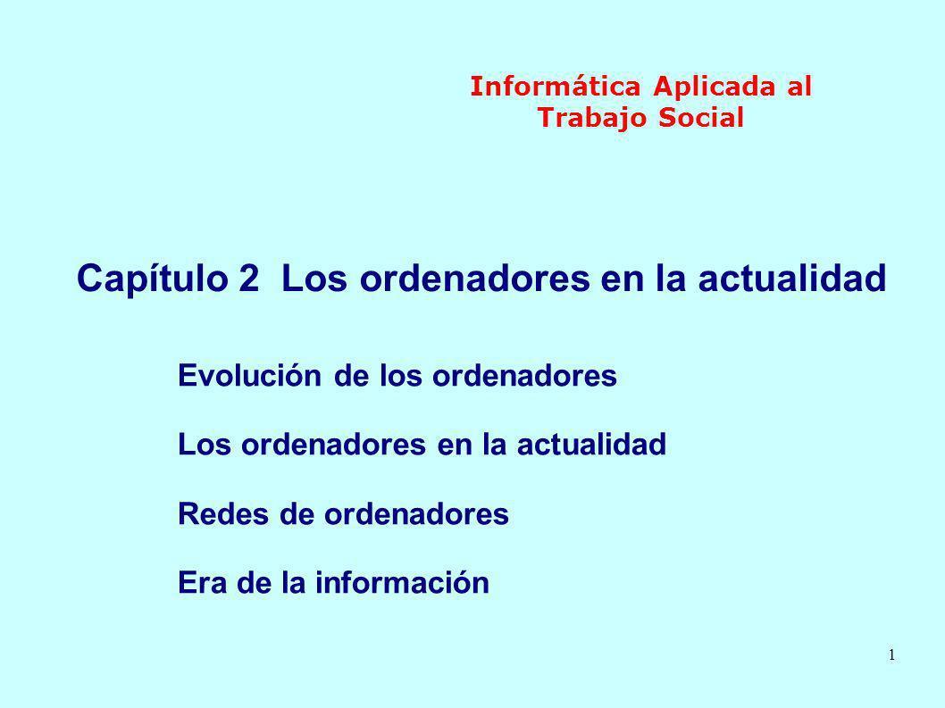 2 Informática Aplicada al Trabajo Social 1.