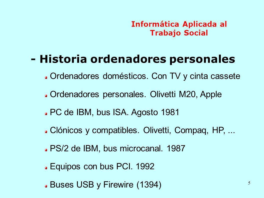 6 Informática Aplicada al Trabajo Social 2.