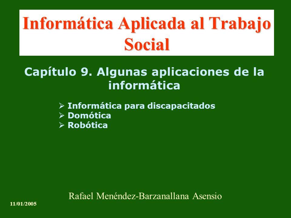 Informática Aplicada al Trabajo Social Capítulo 9.