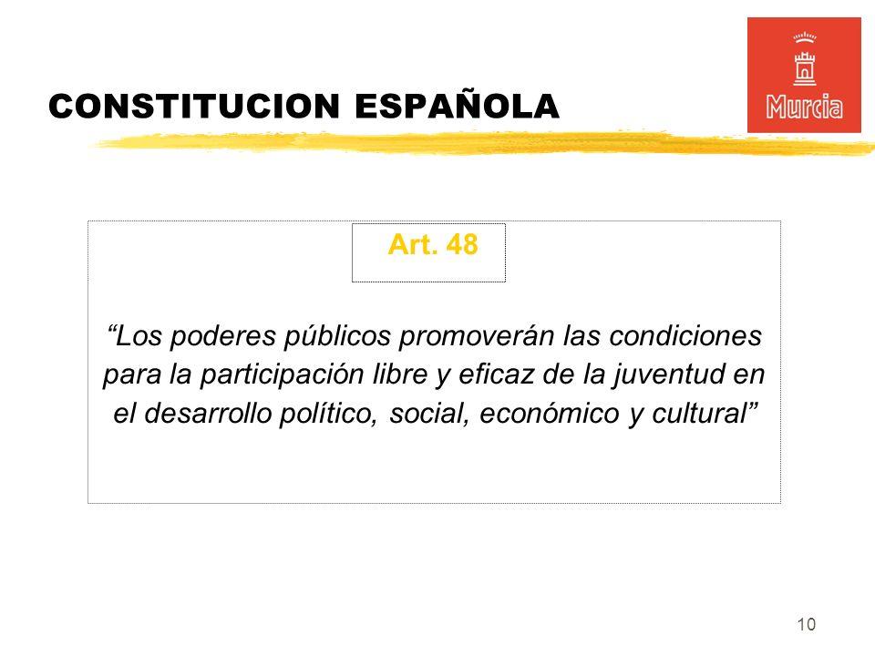 10 CONSTITUCION ESPAÑOLA Art.