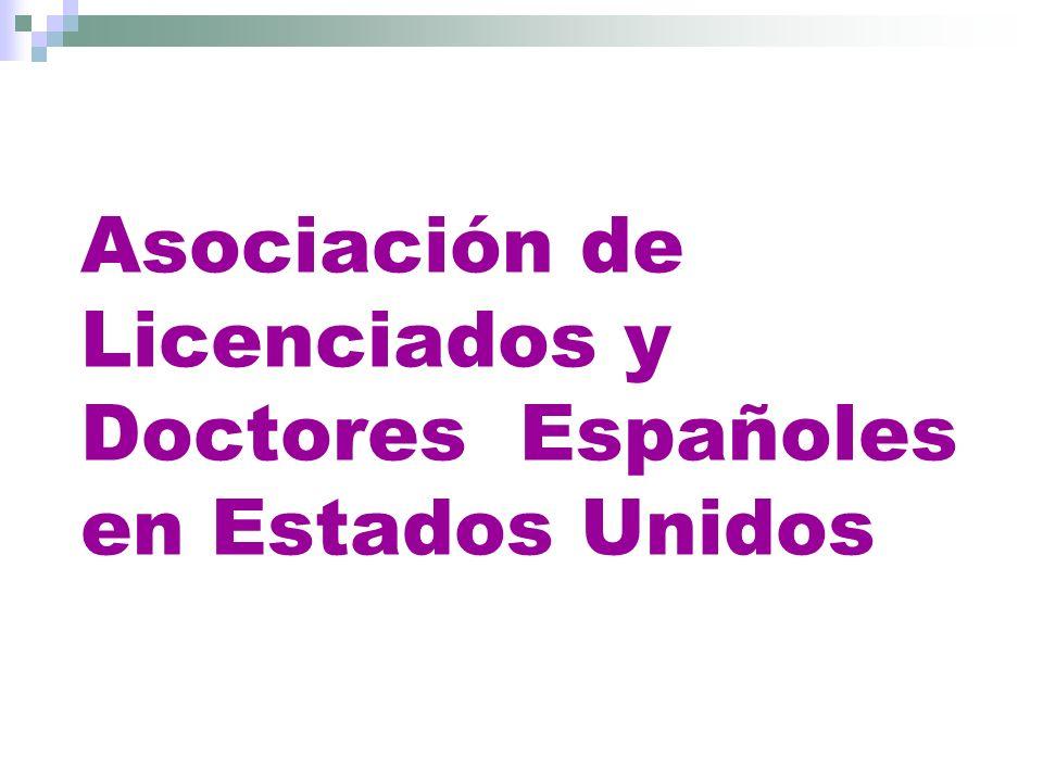 Asociación de Licenciados y Doctores Españoles en Estados Unidos