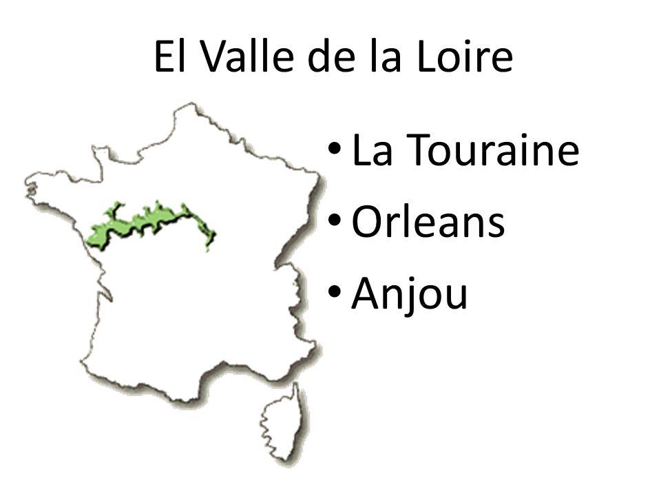 El Valle de la Loire La Touraine Orleans Anjou