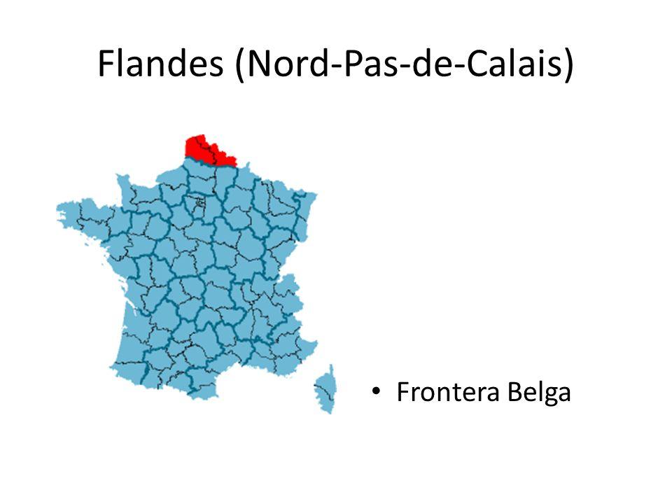 Flandes (Nord-Pas-de-Calais) Frontera Belga