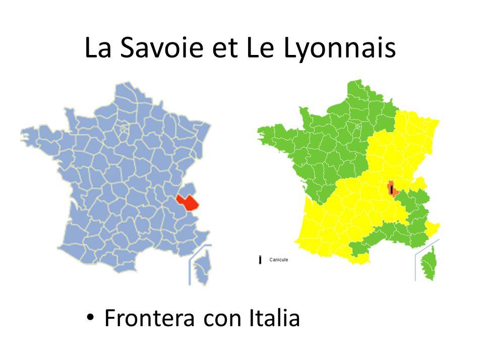 La Savoie et Le Lyonnais Frontera con Italia
