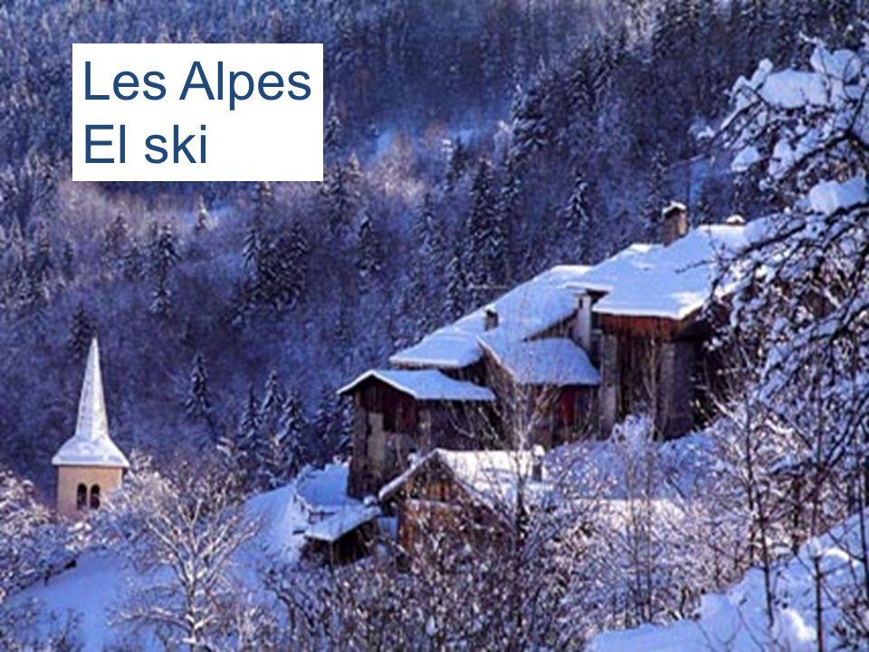 Les Alpes El ski
