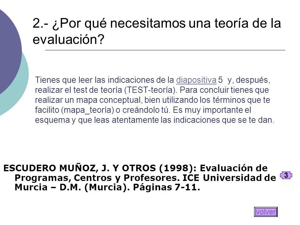 Tienes que leer las indicaciones de la diapositiva 5 y, después, realizar el test de teoría (TEST-teoría). Para concluir tienes que realizar un mapa c