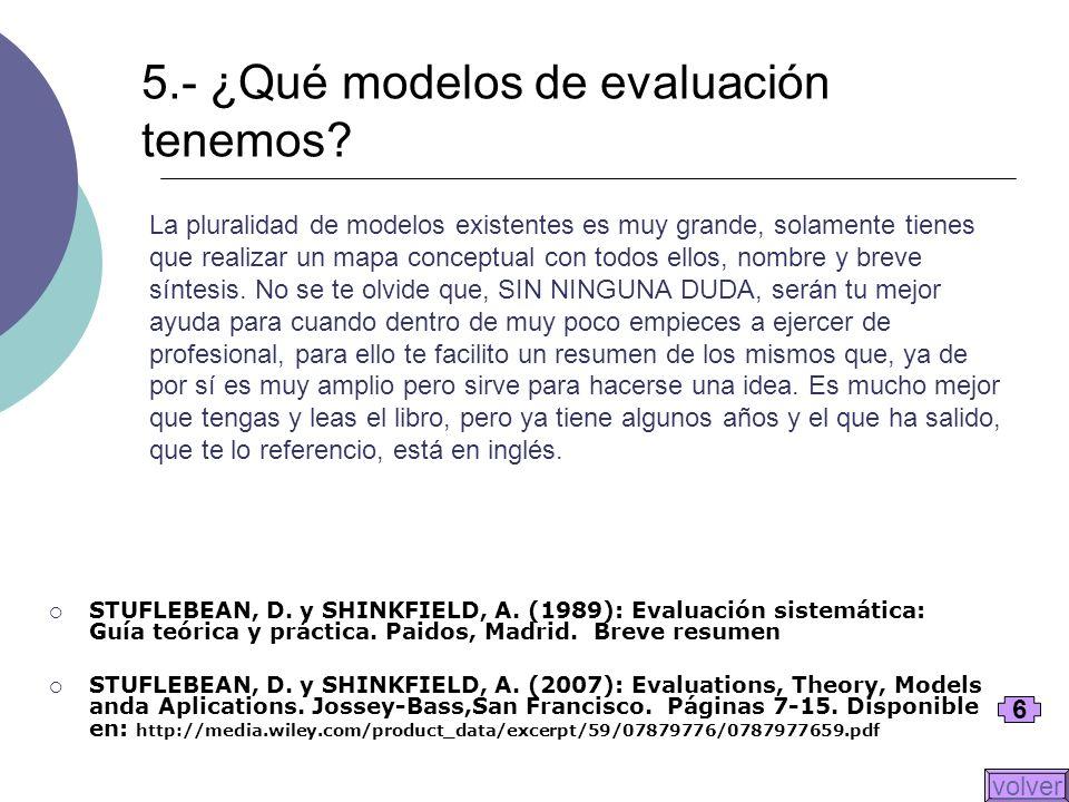 La pluralidad de modelos existentes es muy grande, solamente tienes que realizar un mapa conceptual con todos ellos, nombre y breve síntesis. No se te