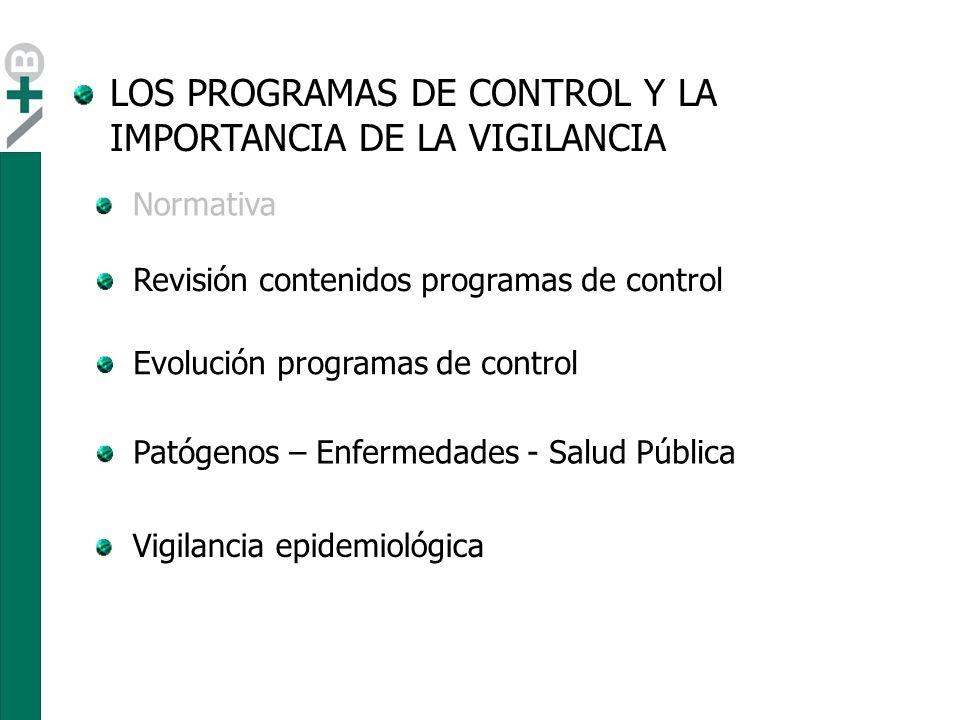 El contenido de la gran mayoría de programas están basados en las actuaciones de control.