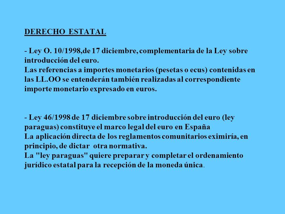 DERECHO ESTATAL - Ley O.