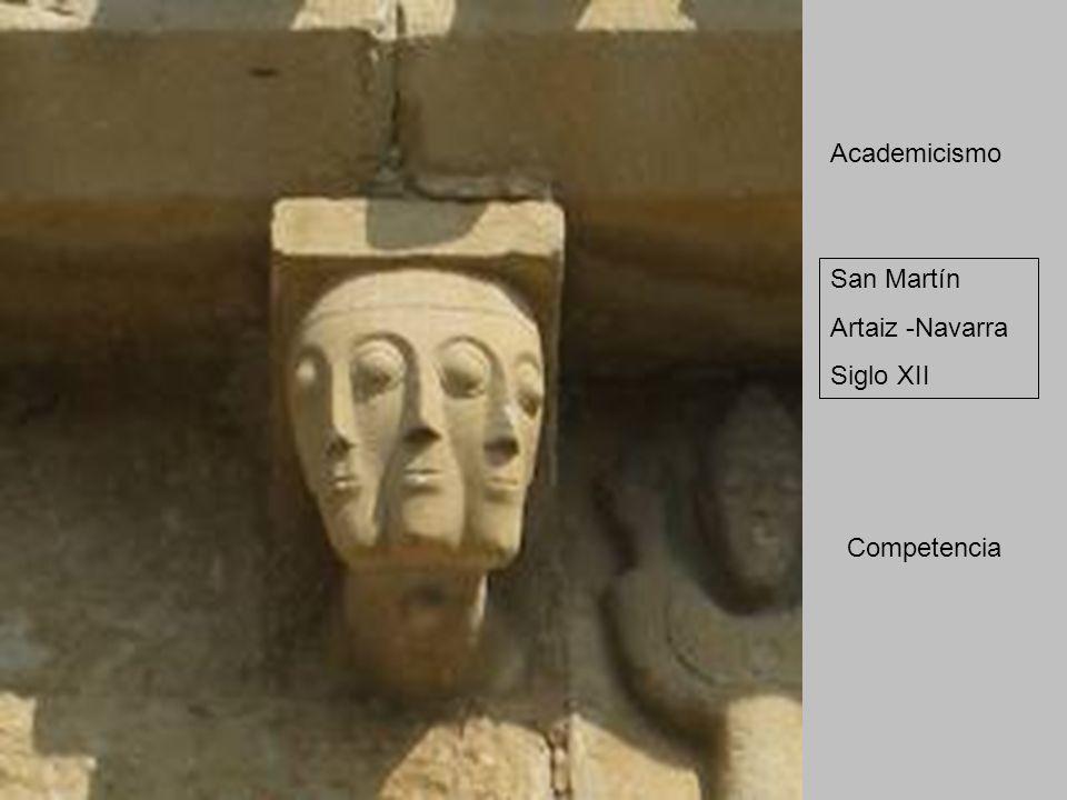 San Martín Artaiz -Navarra Siglo XII Academicismo Competencia