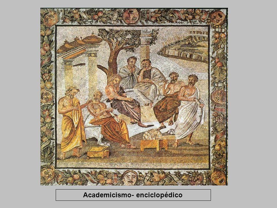 Academicismo- enciclopédico