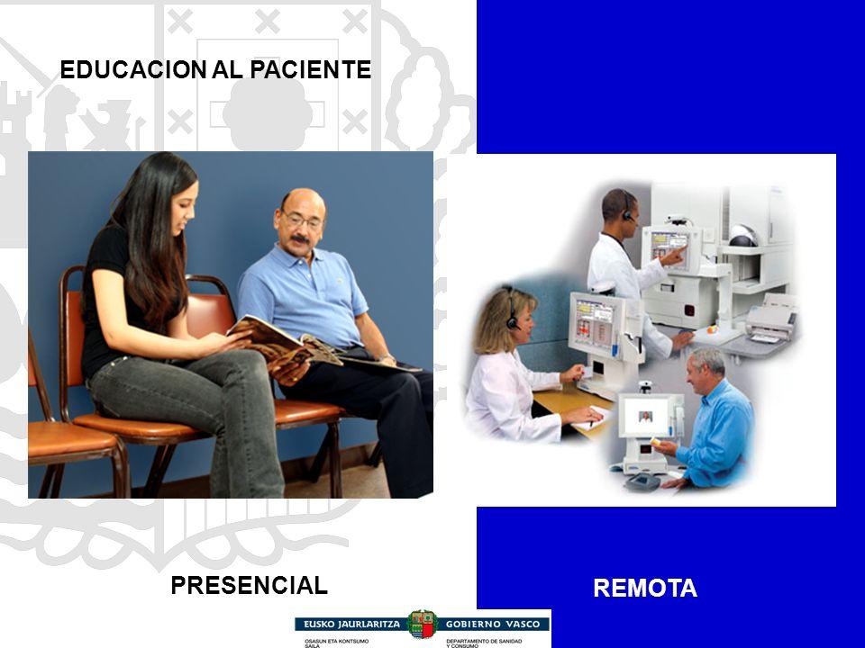 REMOTA EDUCACION AL PACIENTE PRESENCIAL