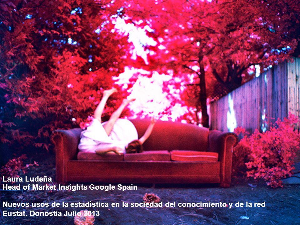 Google Confidential and Proprietary 1 Laura Ludeña Head of Market Insights Google Spain Nuevos usos de la estadística en la sociedad del conocimiento