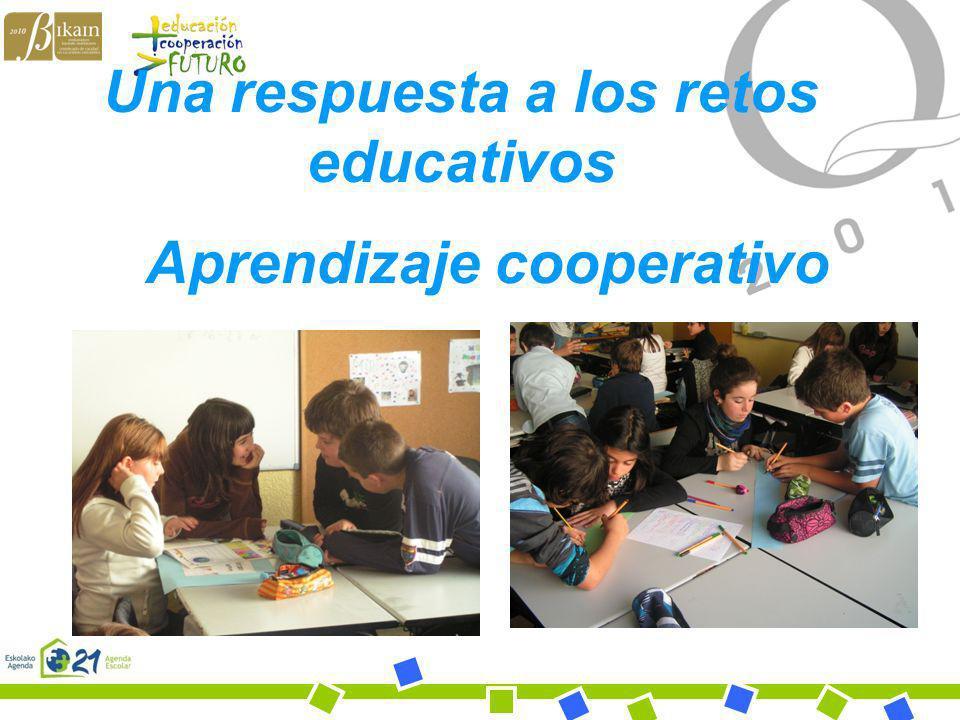 Bihotz Gaztea Ikastola Una respuesta a los retos educativos Aprendizaje cooperativo