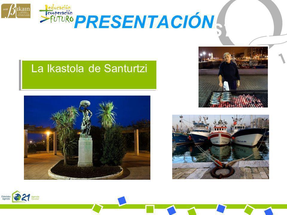 Bihotz Gaztea Ikastola BIHOTZ GAZTEA IKASTOLA La Ikastola de Santurtzi PRESENTACIÓN