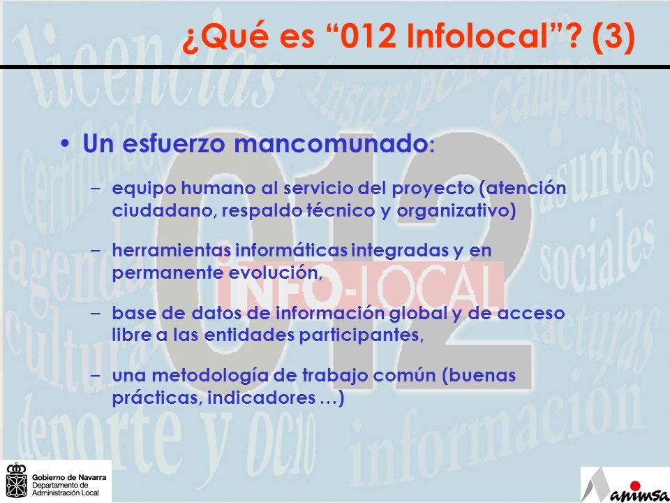 ¿Qué oferta Infolocal 012.