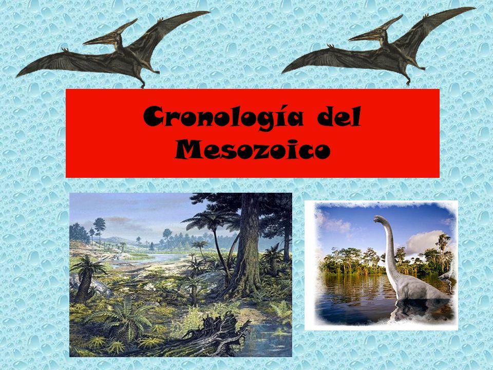 Cronología del Mesozoico