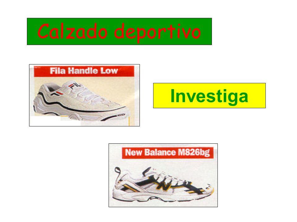 Calzado deportivo Investiga