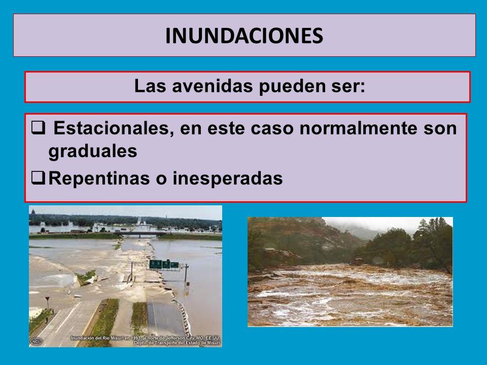 INUNDACIONES Las avenidas son unos de los riesgos geológicos que más víctimas y daños materiales se han cobrado.