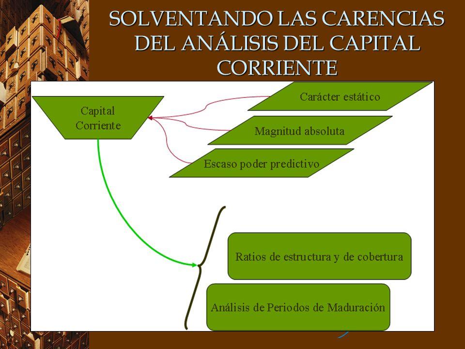 SOLVENTANDO LAS CARENCIAS DEL ANÁLISIS DEL CAPITAL CORRIENTE