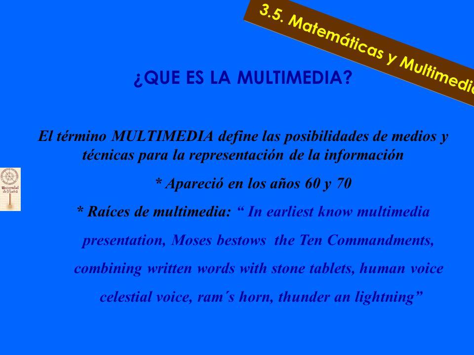 3.4. Ejemplos de Fractales 3. 4. Matemáticas y Naturaleza