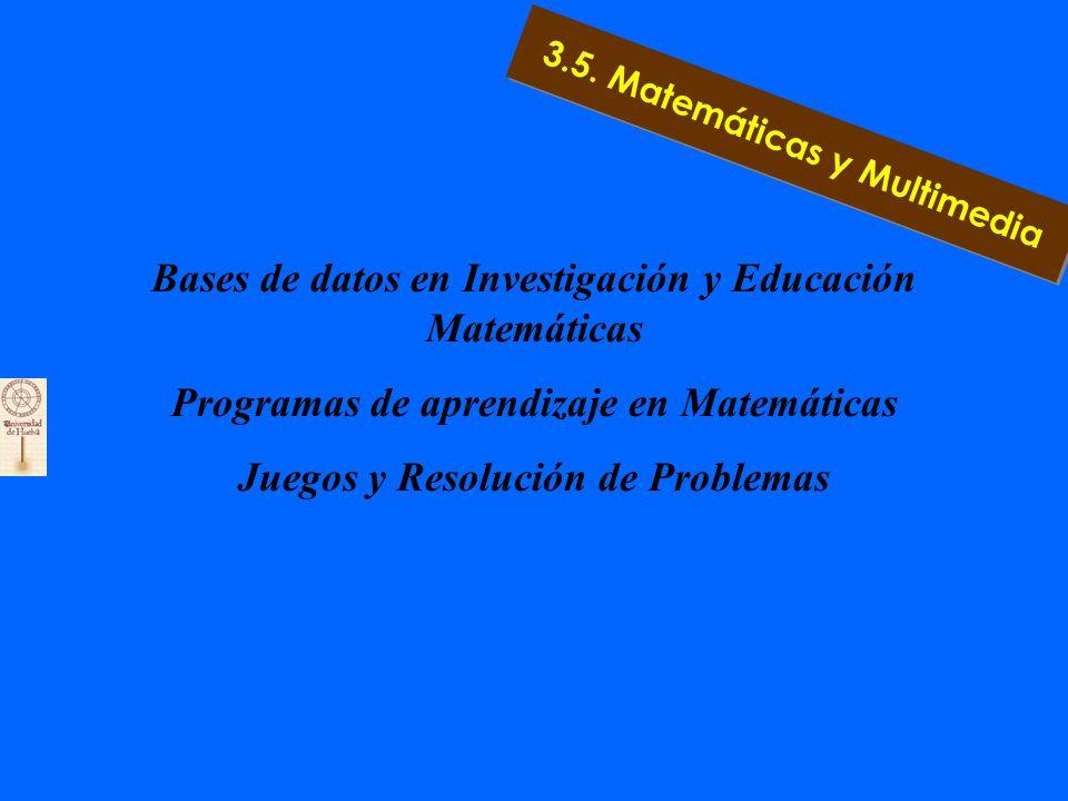 APLICACIONES DIARIA Multimedia como ayuda a la planificación curricular La simulación de modelos matemáticos Terminales de información Multimedia de red 3.5.