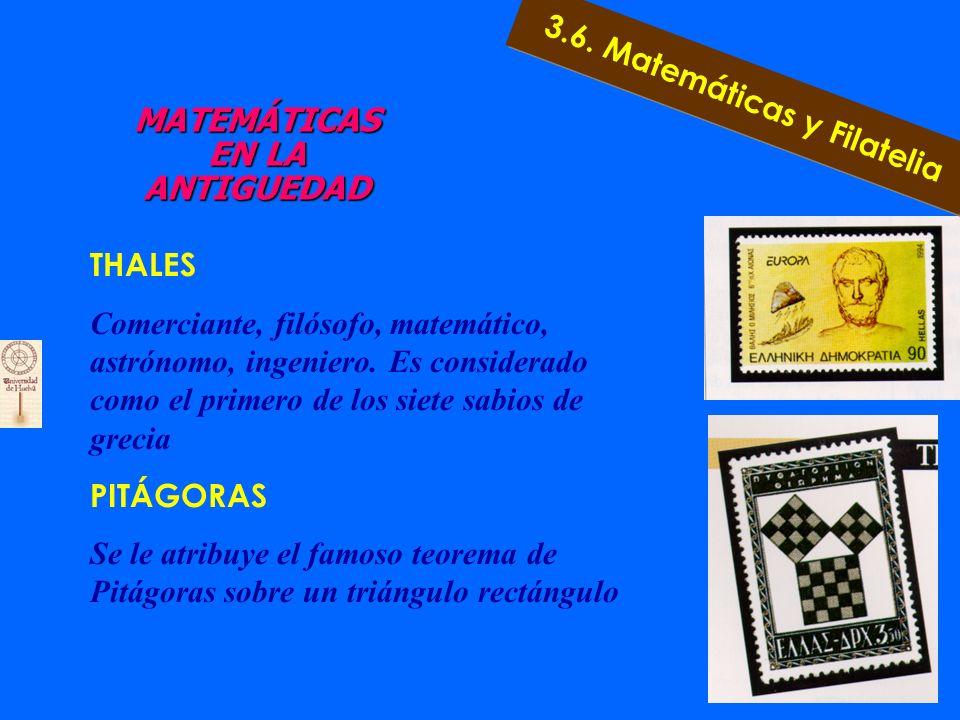 CONCEPTOS MATEMÁTICOS A TRAVÉS DE SU HISTORIA (FILATELIA) PIRÁMIDES DE EGIPTO La construcción de las pirámides no es sólo un producto empírico para cu