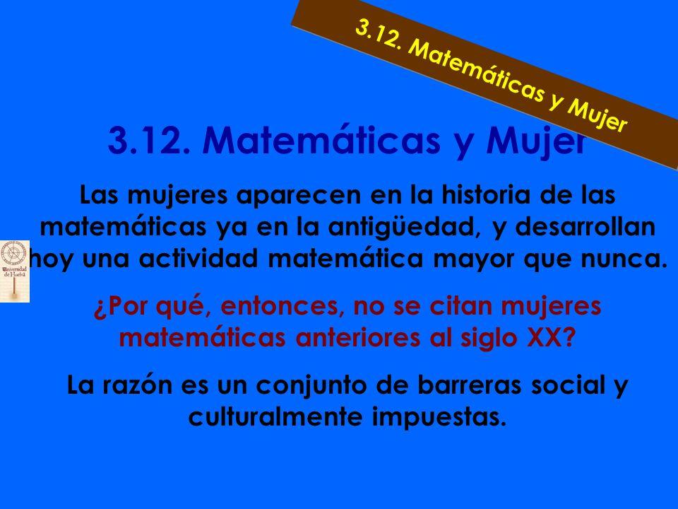 3.11. Matemáticas y Cuerpo Humano Medidas del cuerpo humano Simetrías y asimetrías Medidas insignificantes Ojos y cerebro 3.11. Matemáticas y Cuerpo H
