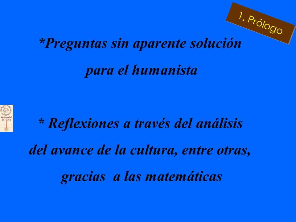 * Historia y Mito: Ariana y Teseo en el laberinto humanístico * La fábula explica como las Ciencias y las Humanidades se aúnan 1. Prólogo
