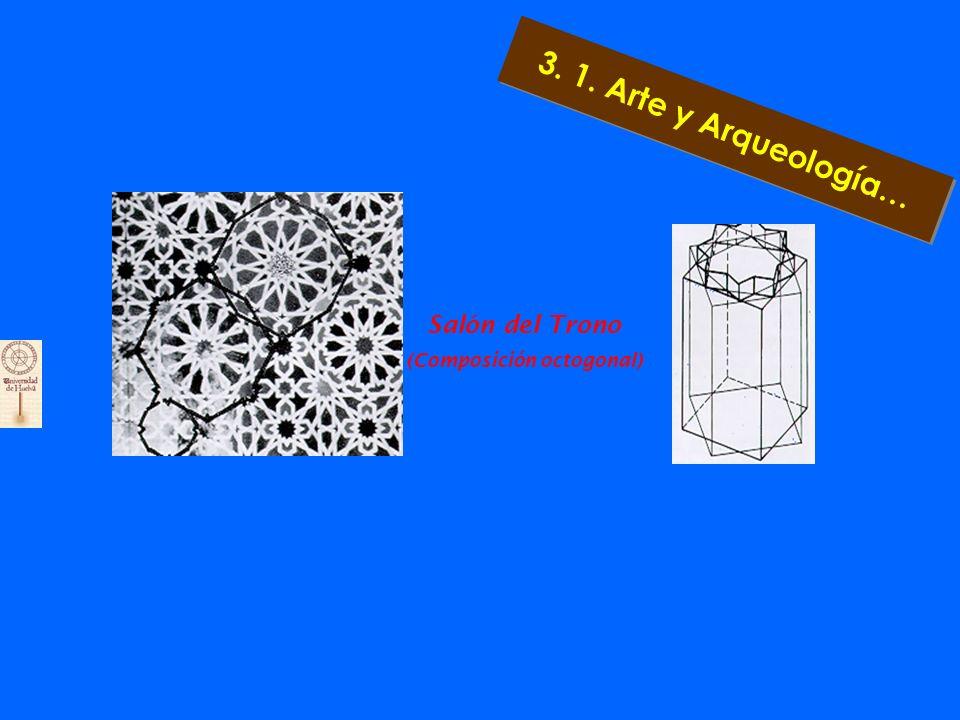 Zócalo de la Sala de Dos Hermanas Esquema para la construcción de las Salas de Dos Hermanas y de Abencerrajes 3. 1. Arte y Arqueología…