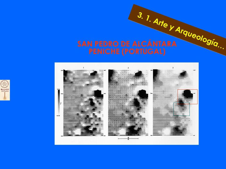 Superposición Imagen de la Prospección y Plano de la Excavación 1998 3. 1. Arte y Arqueología…