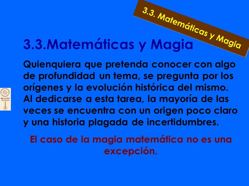 3.2.1.Resumen: Numerología Números Perfectos: 6=1+2+3*** 28=1+2+4+7+14 Números Amigos: 220 y 284 *** 17.296 y 18.416 Números Gemelos: 3 y 5*** 5 y 7*** 11 y 13 3.