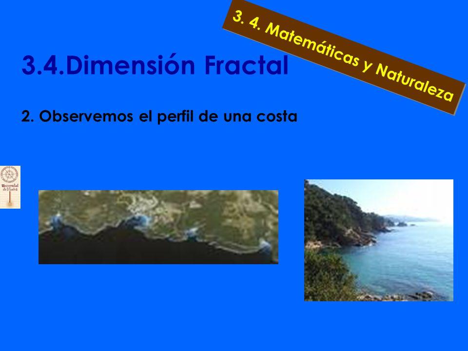 3.4.Dimensión Fractal 2. Observemos en el cielo una nube 3. 4. Matemáticas y Naturaleza
