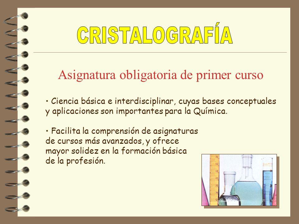 Describir y analizar la estructura y propiedades de la materia cristalina en función de las relaciones espaciales entre átomos y de las interacciones entre ellos Objetivo general