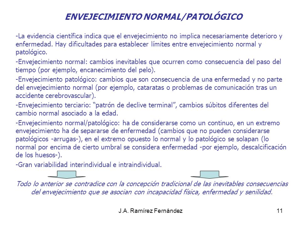 J.A.Ramírez Fernández12 CAMBIOS FÍSICOS 1.