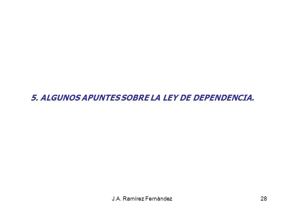 J.A.Ramírez Fernández29 OBJETO. PRINCIPIOS.