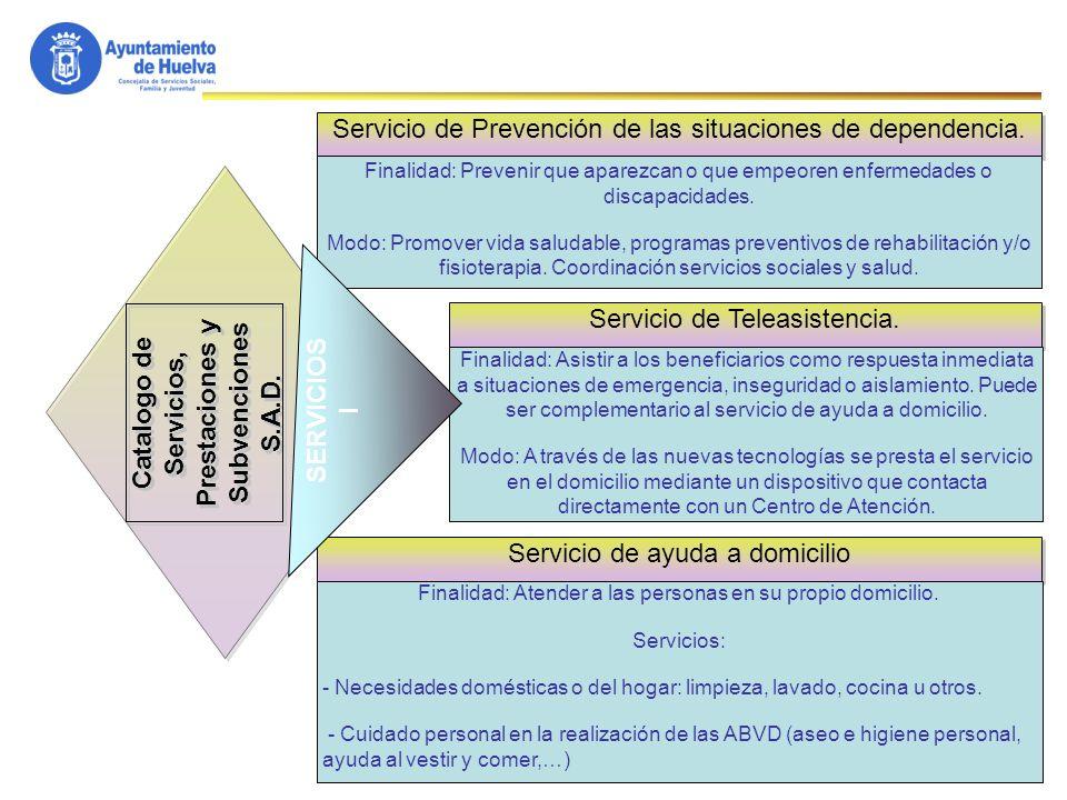 32 Catalogo de Servicios, Prestaciones y Subvenciones S.A.D.