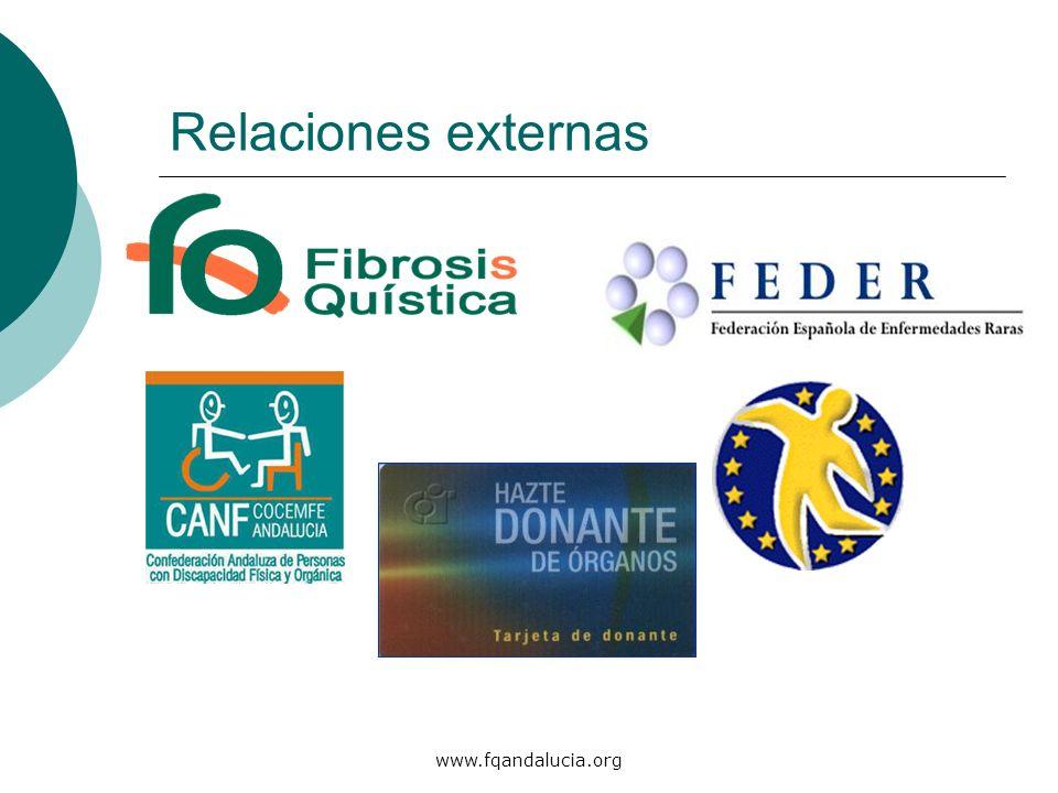 www.fqandalucia.org Relaciones externas