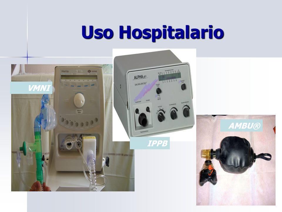 Uso Hospitalario Uso Hospitalario VMNI IPPB AMBU®
