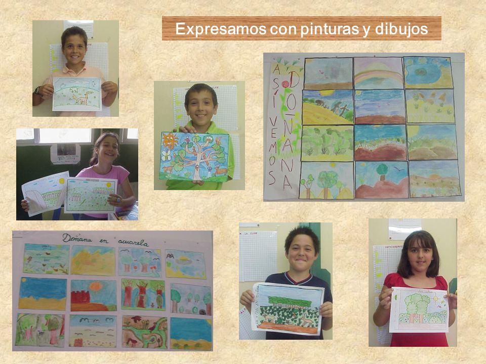 Expresamos con pinturas y dibujos