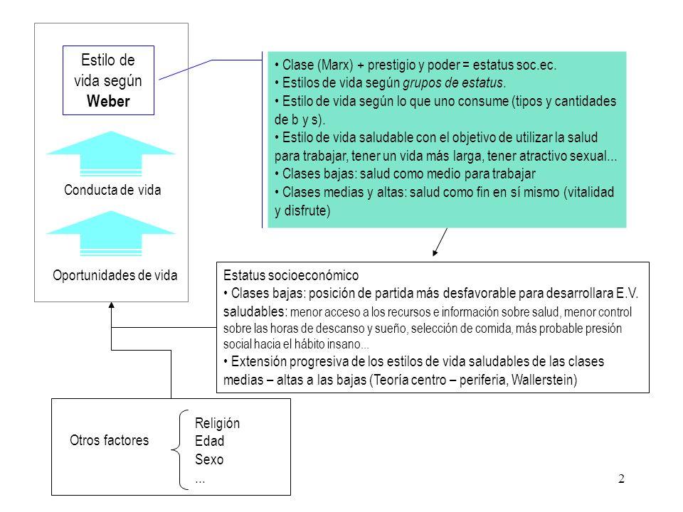 3 Postura crítica (Waitzin y Navarro): La individualización de la responsabilidad en salud exime a la sociedad, y no debería ser así.